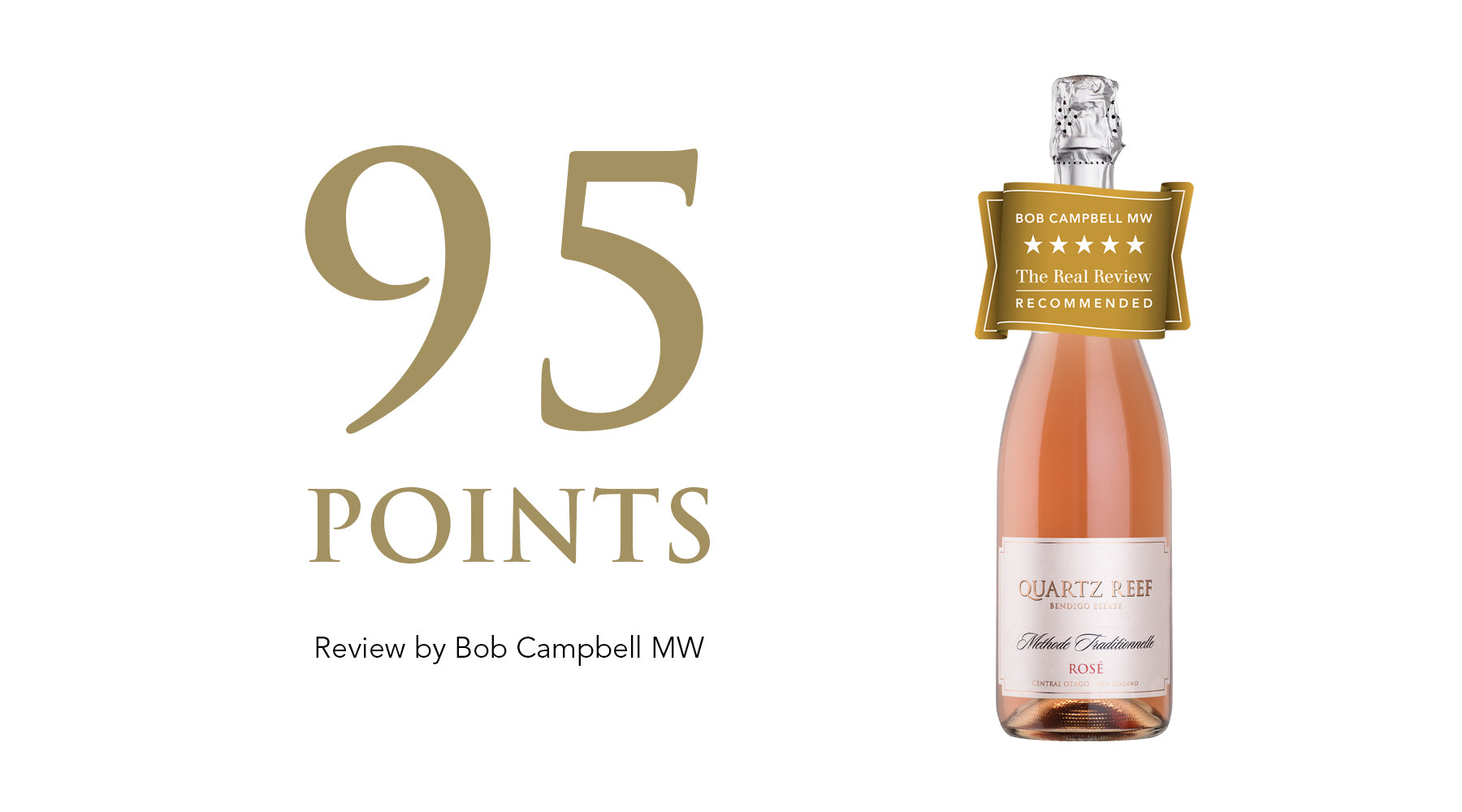 Methode Traditionnellé Rosé - Awarded 95 Points