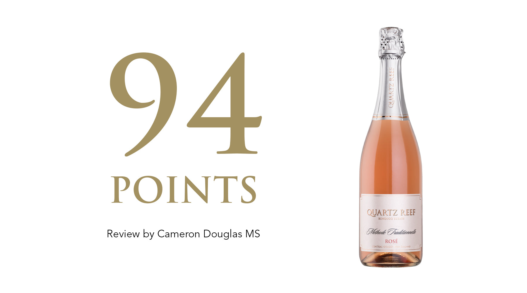 Methode Traditionnelle Rosé NV - Awarded 94 Points