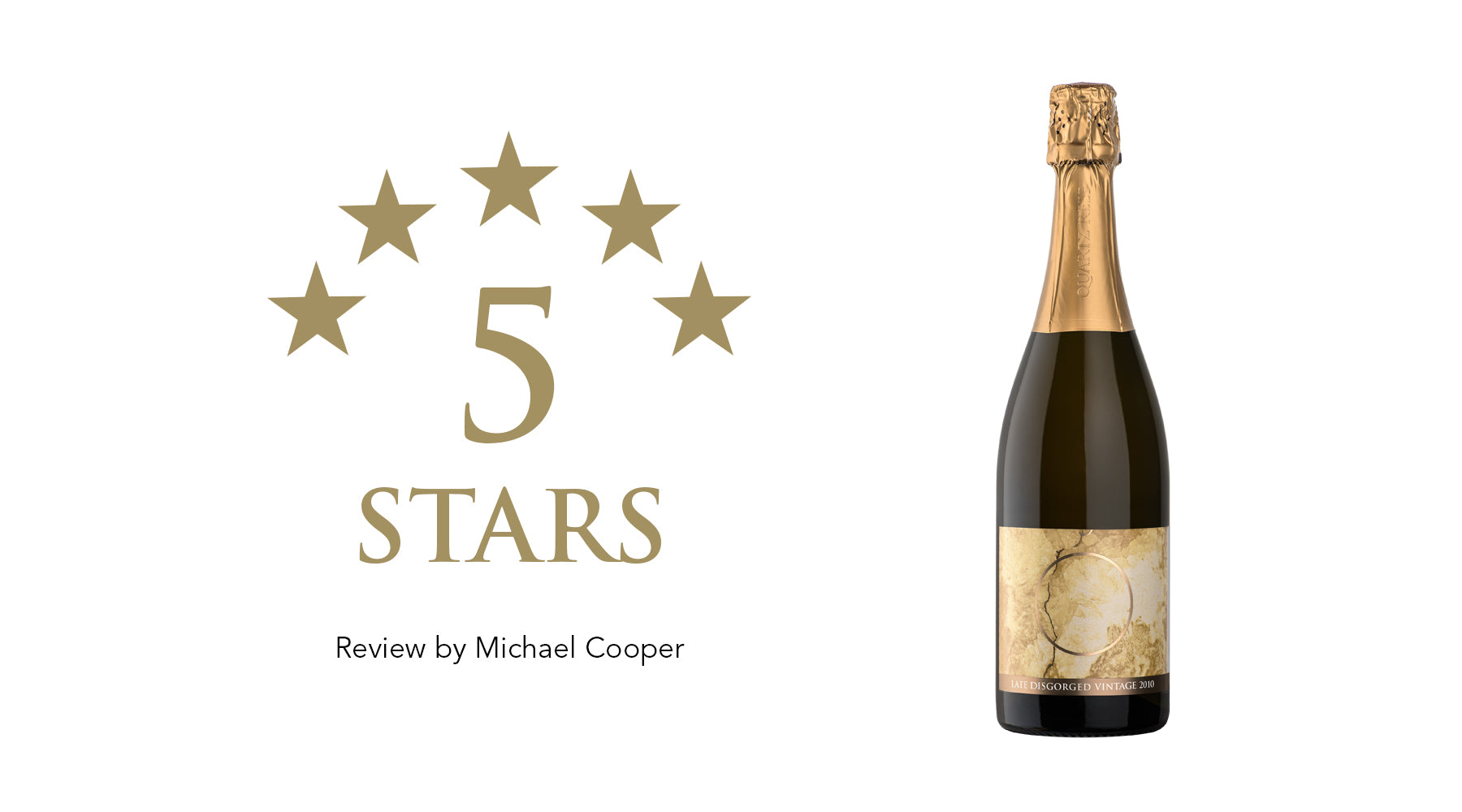 Late Disgorged Vintage 2010 - Awarded 5 Stars