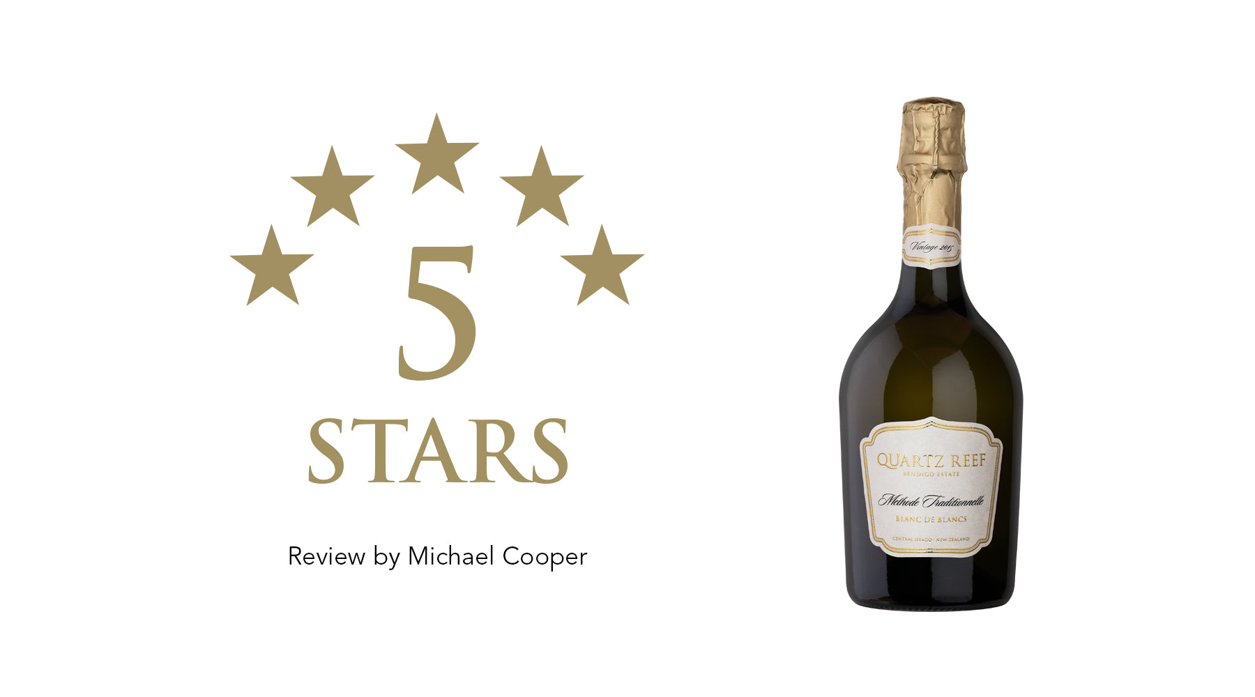 Methode Traditionnellé Vintage 2015 Blanc de Blanc - Awarded 5 Stars and Classic