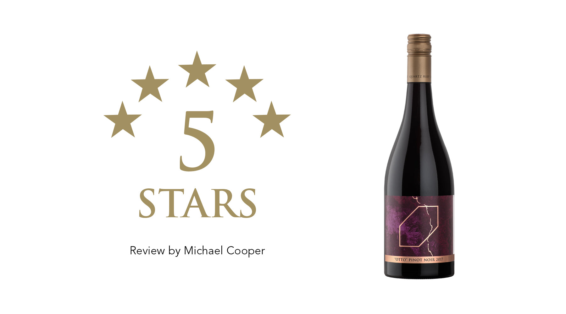 "Royal Series ""Otto"" Pinot Noir - Awarded 5 Stars"