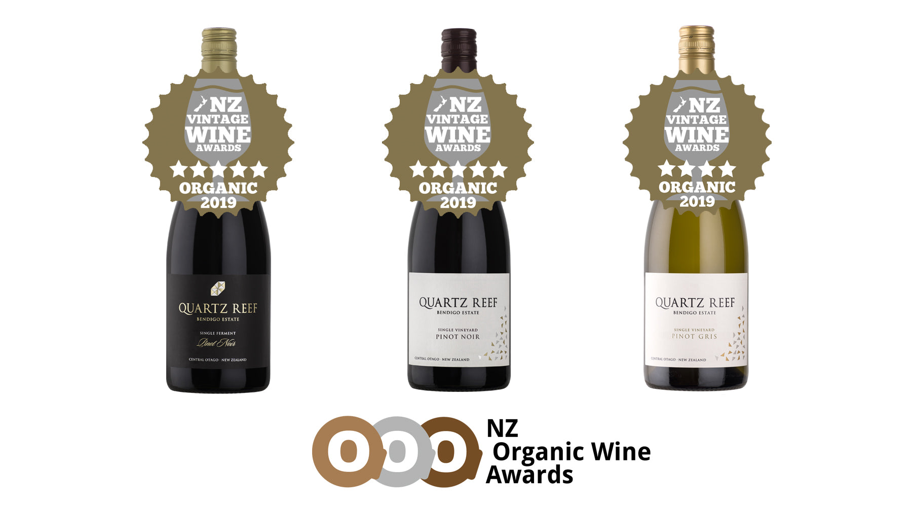 NZ Organic Wine Awards - Vintage Wine Awards (2014) Results