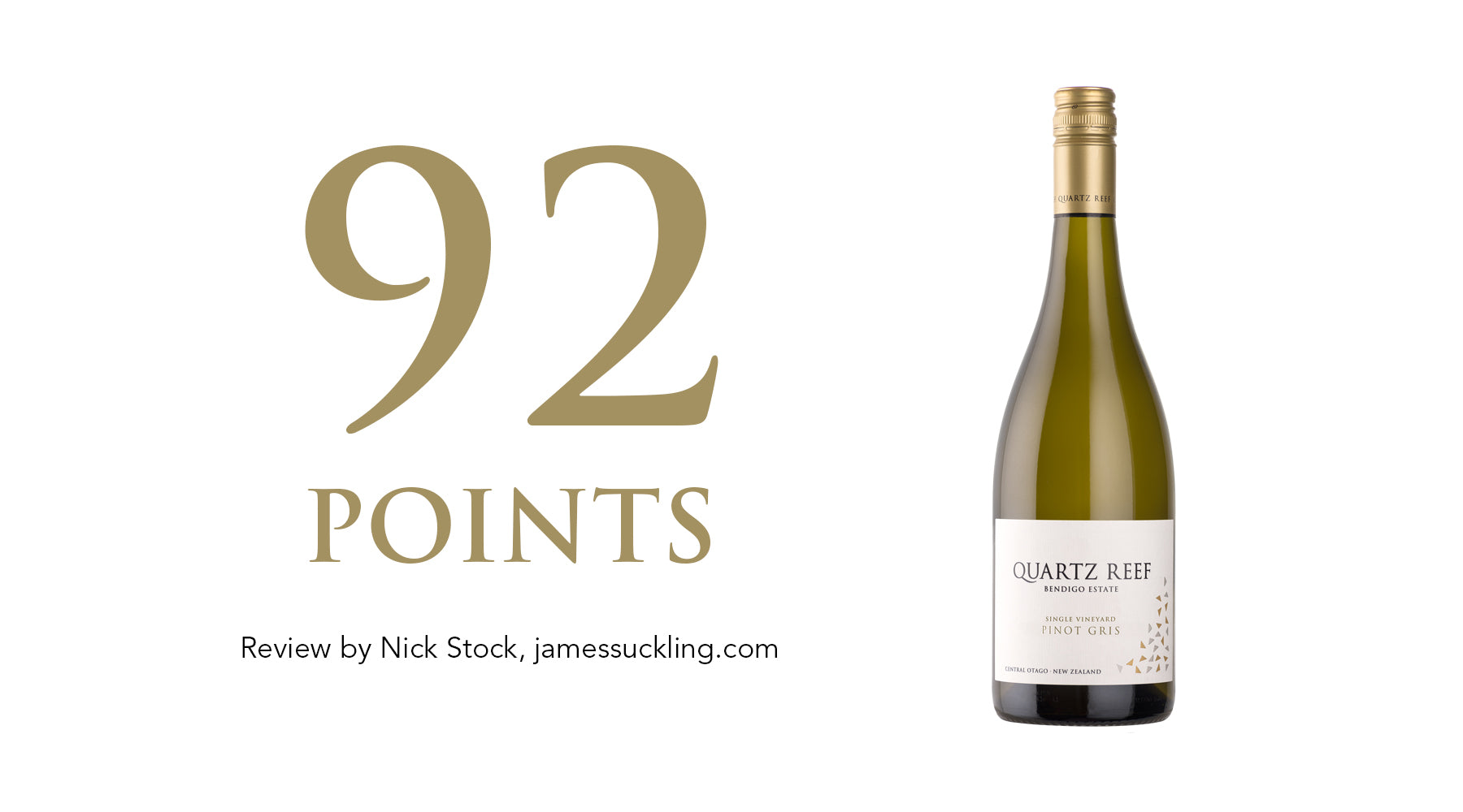 Pinot Gris 2018 - Awarded 92 Points