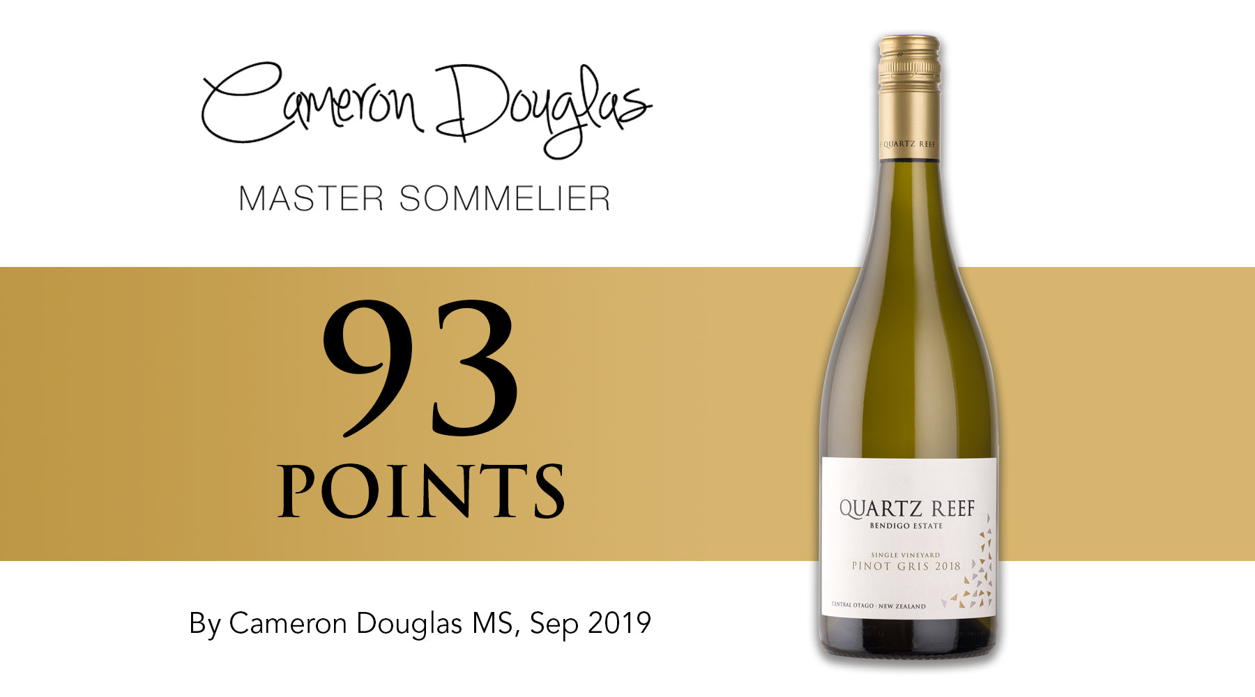 Pinot Gris 2018 - Awarded 93 Points