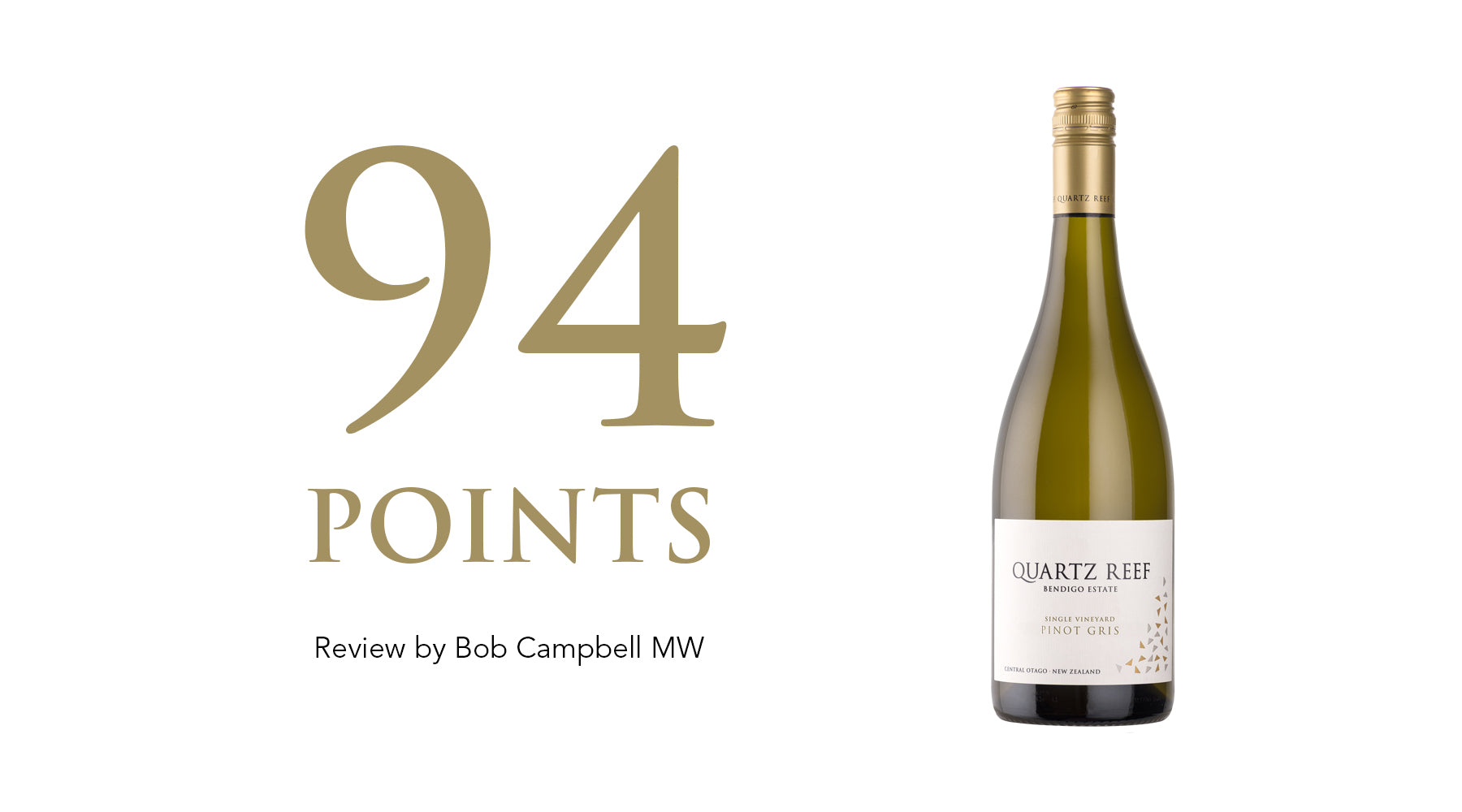 Pinot Gris 2019 - Awarded 94 Points