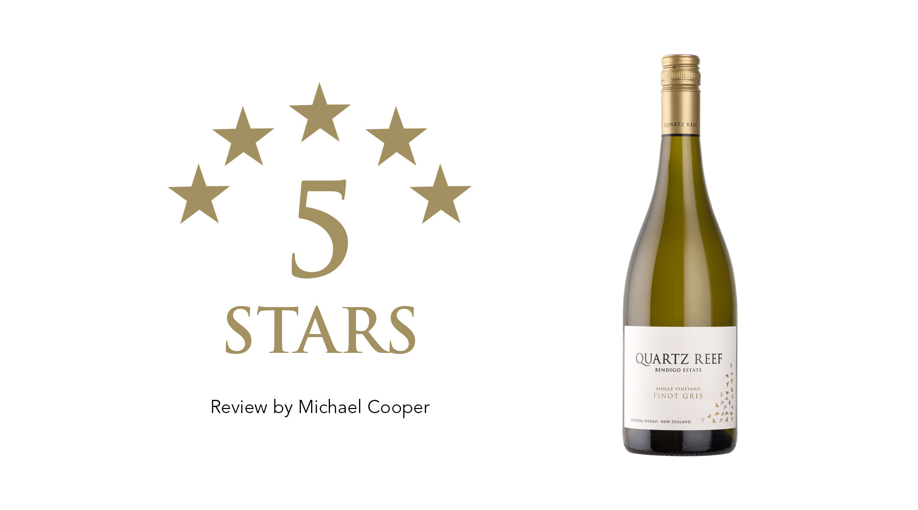 Pinot Gris 2020 - Awarded 5 Stars