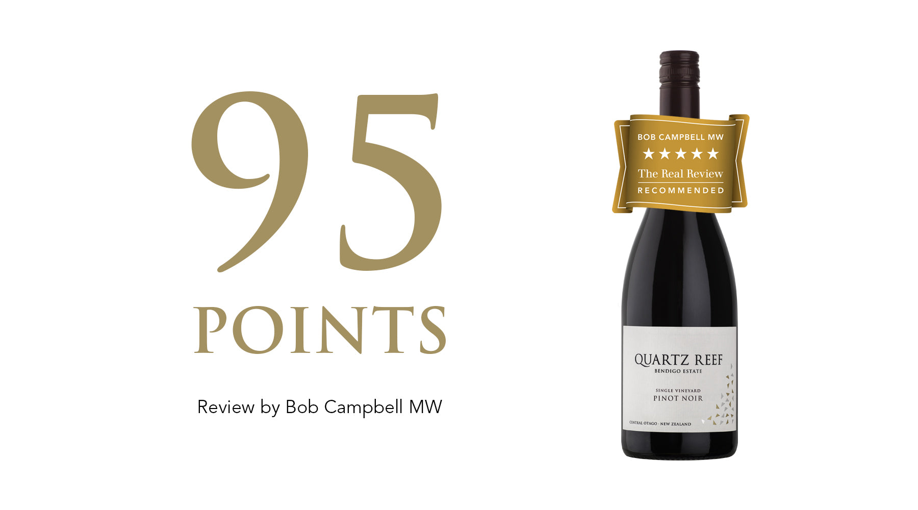 Pinot Noir 2017: Awarded 95 Points and 5 Stars