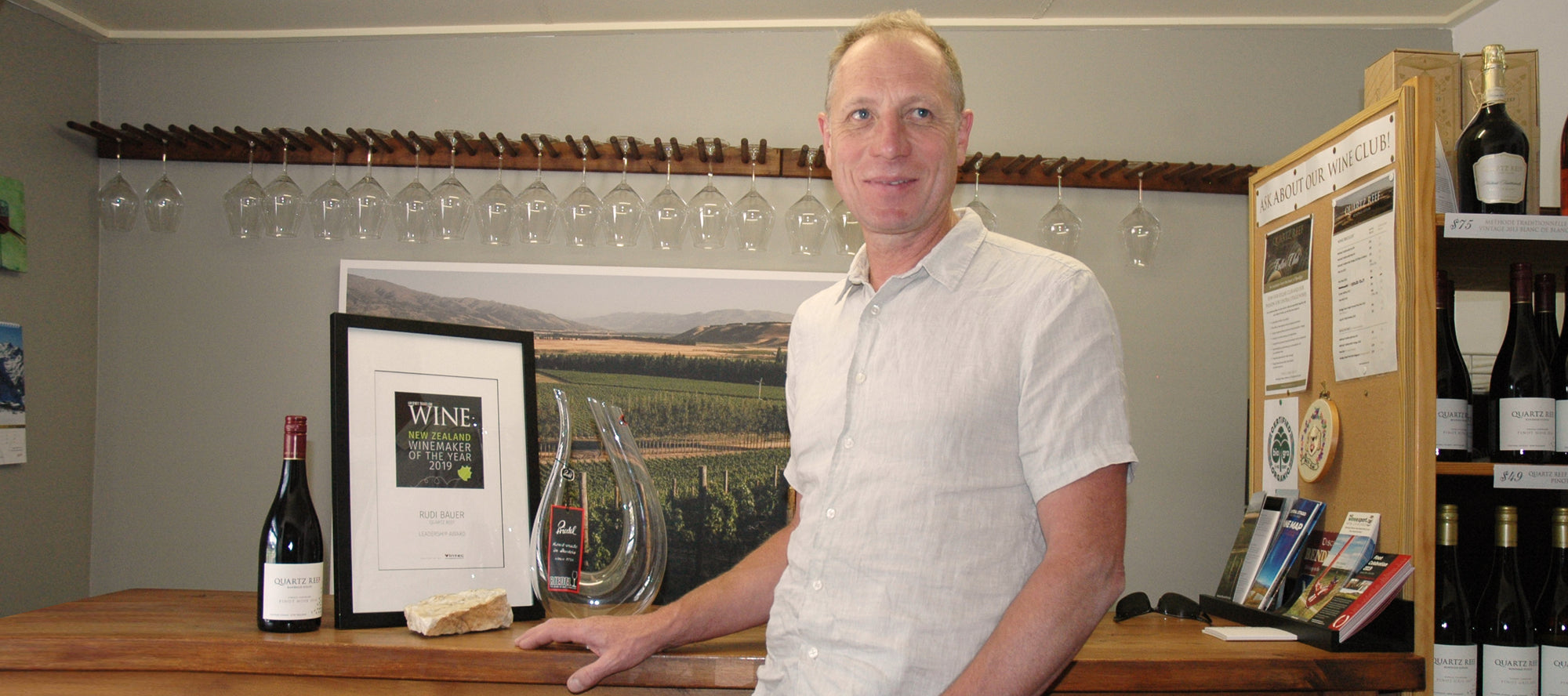 2019 Gourmet Traveller Wine NZ Leadership Award