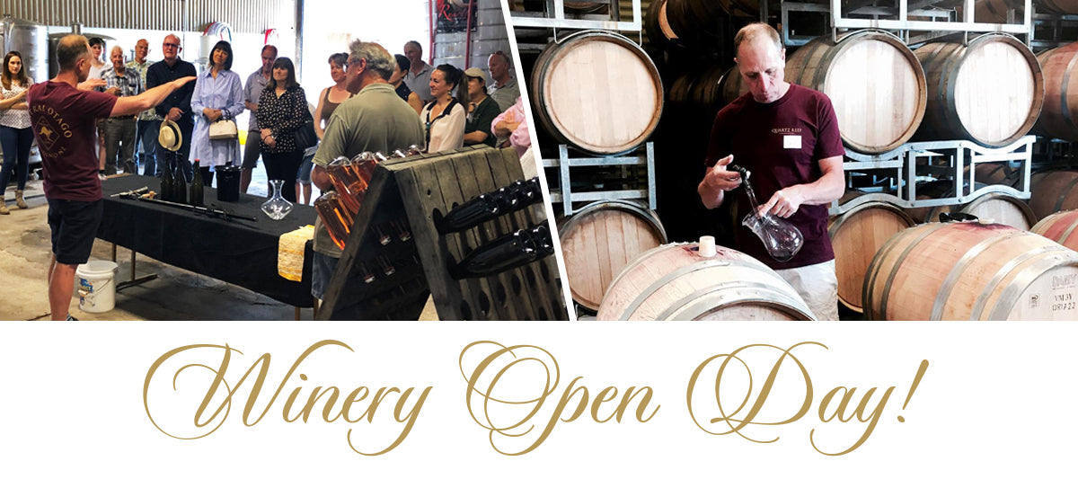 Saturday 2nd November - Winery Open day