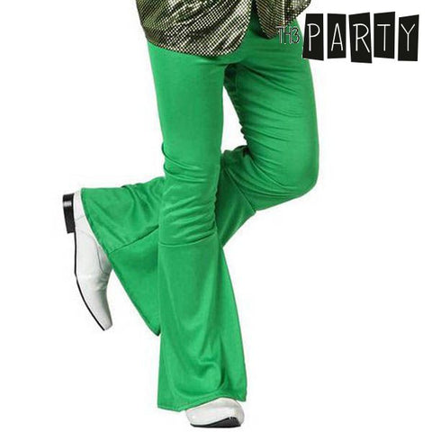 Pantalón para Adultos Th3 Party Disco Verde