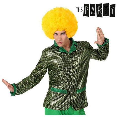 Chaqueta para Adultos Th3 Party Disco Brillo Verde