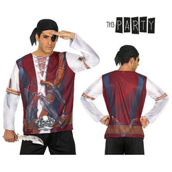 Camiseta para adultos Th3 Party 7659 Pirata hombre