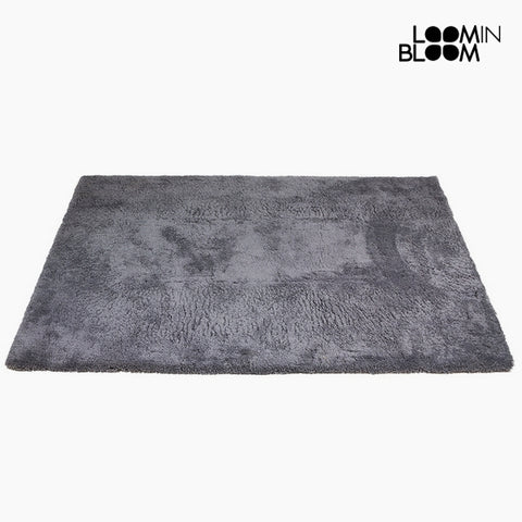 Alfombra Poliéster Gris (170 x 240 x 8 cm) by Loom In Bloom