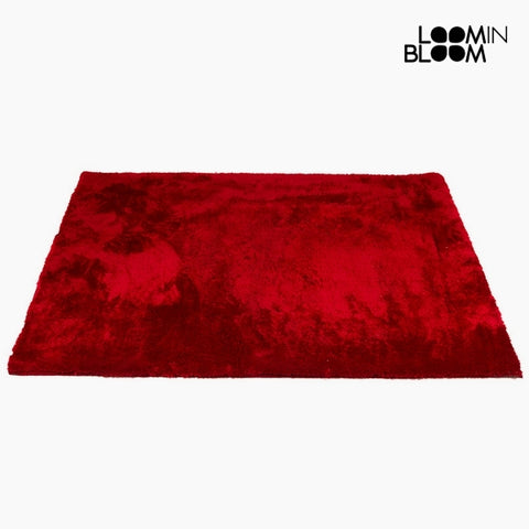 Alfombra Poliéster Rojo (170 x 240 x 6 cm) by Loom In Bloom