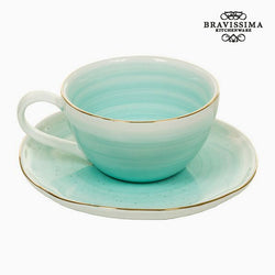 Taza con Plato - Colección Queen Kitchen by Bravissima Kitchen