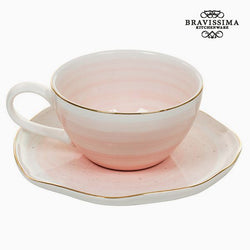 Taza con Plato 250 ml - Colección Queen Kitchen by Bravissima Kitchen