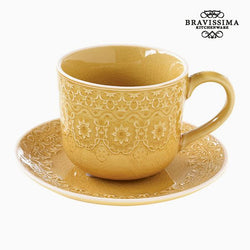 Taza para Infusión Porcelana Amarillo by Bravissima Kitchen