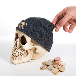 Hucha Calavera con Gorro Pirata Gadget and Gifts