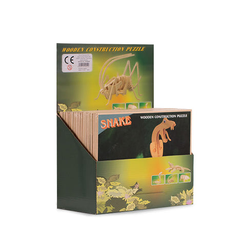 Puzzle de Madera Esqueleto de Animales Junior Knows
