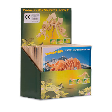 Puzzle de Madera Esqueleto de Dinosaurio Junior Knows