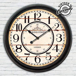 Reloj de Pared Estación London Vintage Coconut