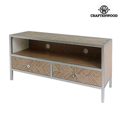 Mueble TV Mdf Blanco (120 x 35 x 55 cm) by Craftenwood