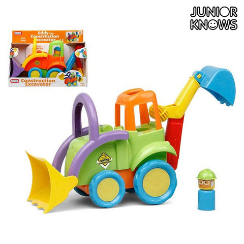 Excavadora Junior Knows 6517 Multicolor