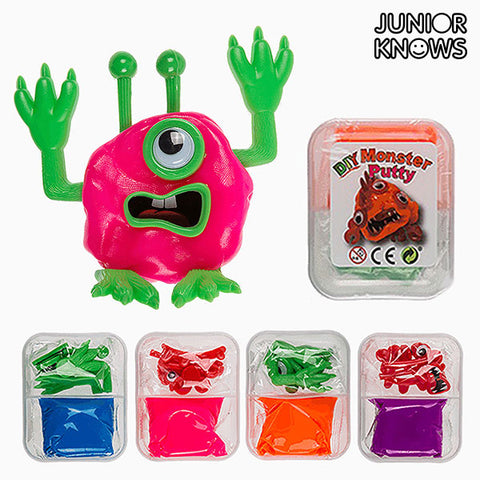 Plastilina Monstruo DIY Junior Knows