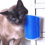 Self Grooming Cat Hair Brushing Pad - Edgy Cat