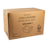 Take Out Food Container #1 Natural, Case 50x9
