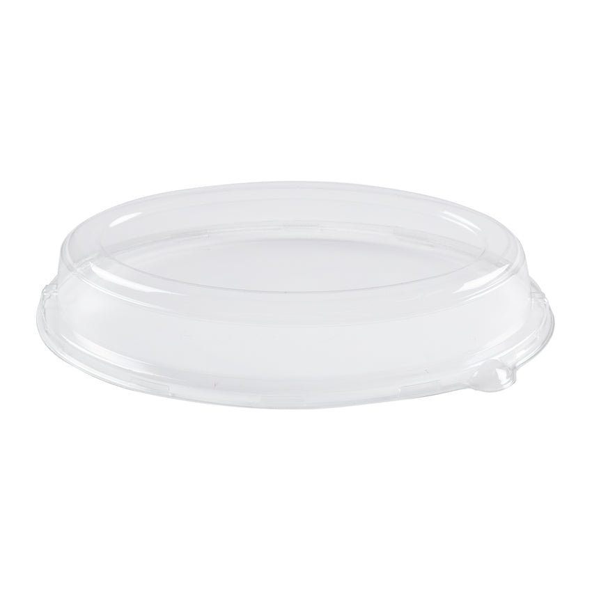"Lid for 10"" Bagasse Oval Tray, Case 125x2"