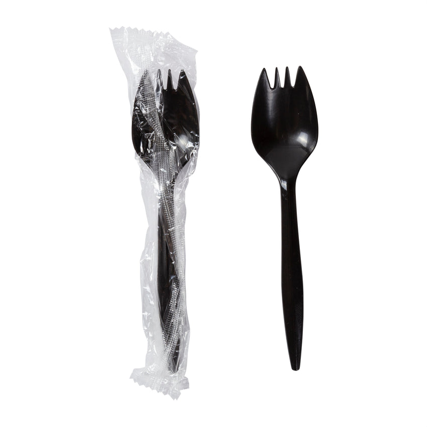 Spork Polypropylene Black IW, Case 2000