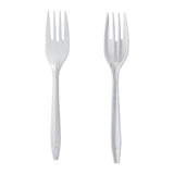 Fork Polypropylene White IW, Case 1000