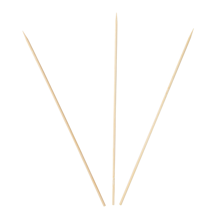 "Skewer Bamboo 10"", Case 100x25"
