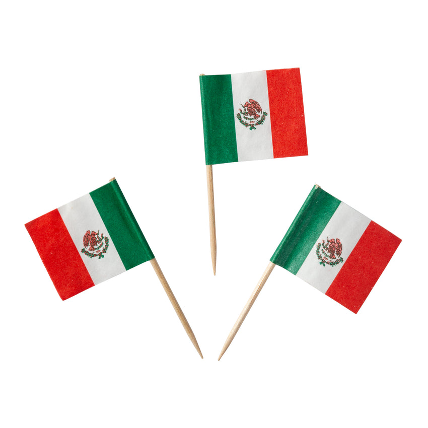 Toothpick Flag Mexican, Case 144x100