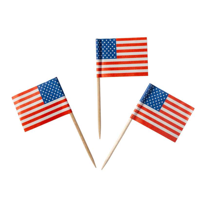 Toothpick Flag American, Case 144x100