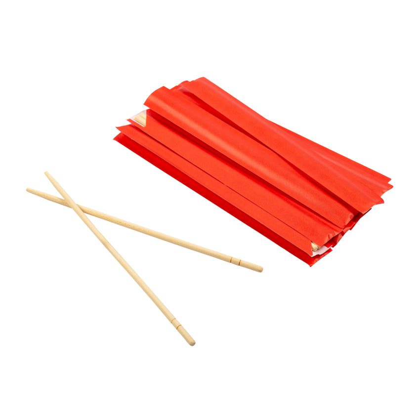 "Chopstick Unjointed Bamboo 9"" Ppr Sleeve, Case 100x30"