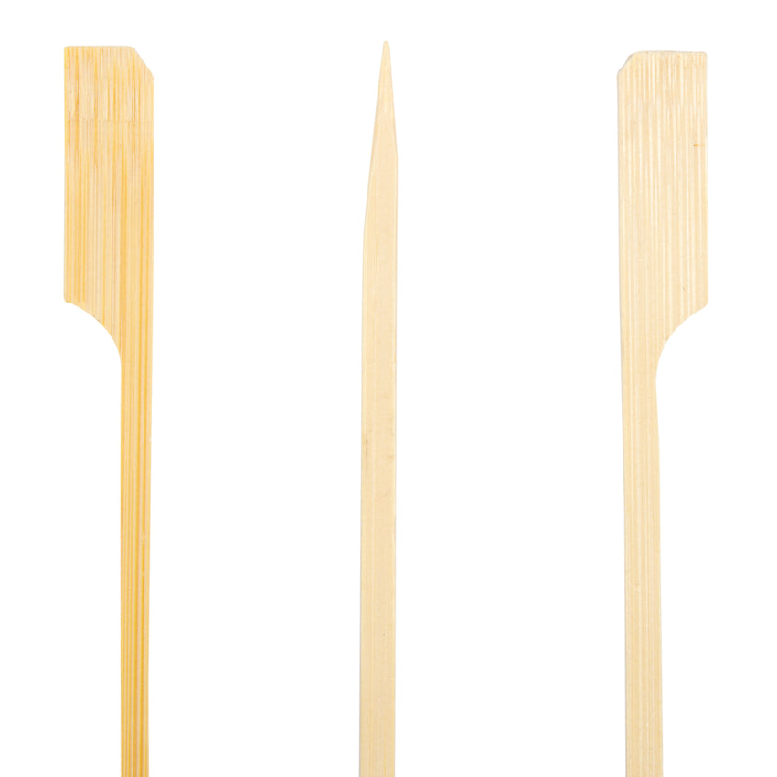 "Skewer Rifle Bamboo 4.5"", Case 100x25x4"
