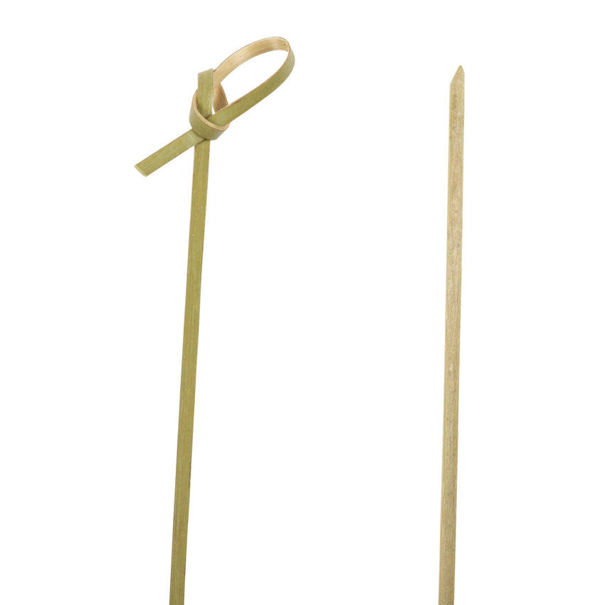 "Skewer Knotted Bamboo 6"", Case 100x10x10"