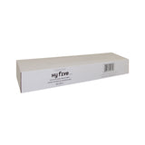 "White Arm Guard LDPE 18"" Length in Dispenser Box, Case 100x10"