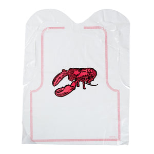 Lobster Bib Printed 16x20