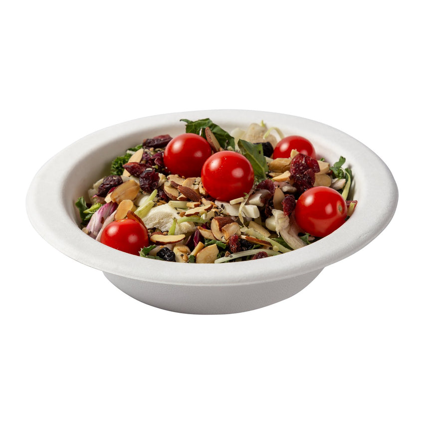 16 oz Round Bowls, Bowl With Food Content