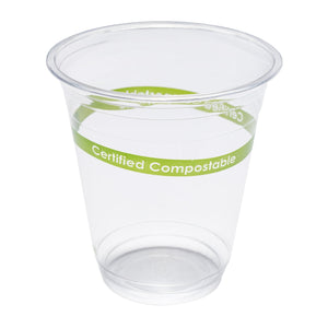 12 oz Compostable Clear PLA Cup