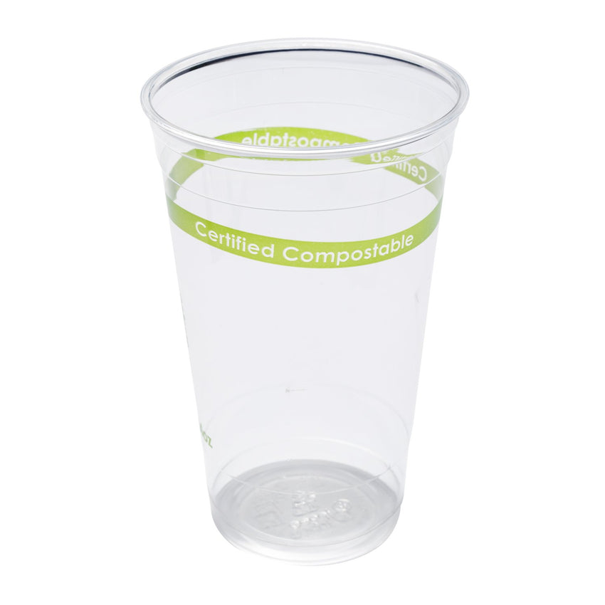 24 oz Compostable Clear PLA Cup