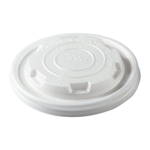 8 oz Compostable CPLA Lid