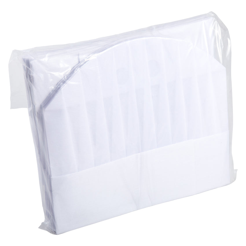 "Chef Hat European Style Non Woven 10"", Case 10x5"