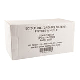 "Filter Cone Edible Oil 10"", Case 50x10"