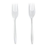 Fork MW Polypropylene White, Case 1000