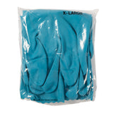 "Glove Hsld Rubber XL12"" Blue Silverlined, Case 15"