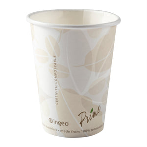 12 oz Compostable PLA Lined Hot Cups